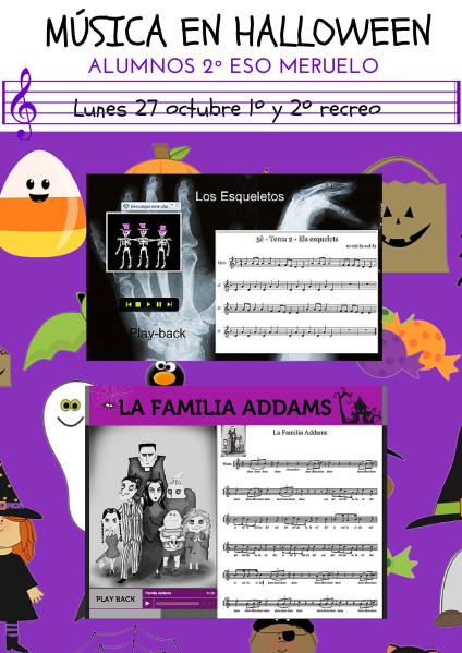 Música en Halloween